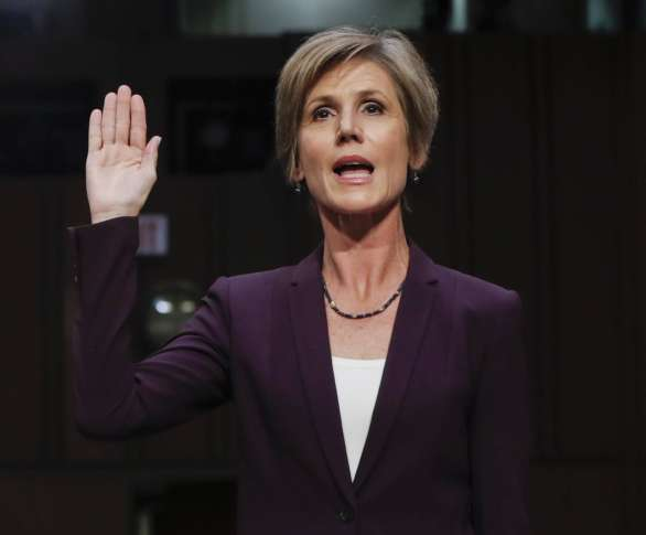Quick Hit: The White House ignored Sally Yates because… Clinton?