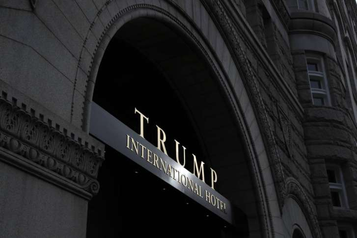 Man with assault weapon arrested inside Trump hotel in DC