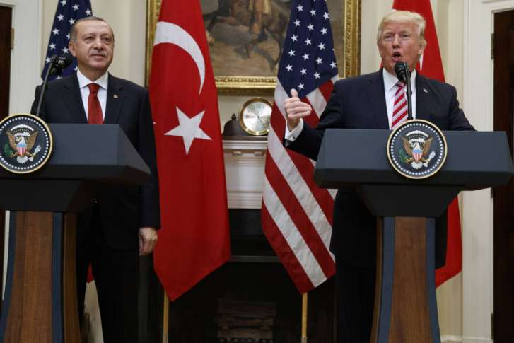 USA  decries Washington, DC, brawl during Erdogan's visit