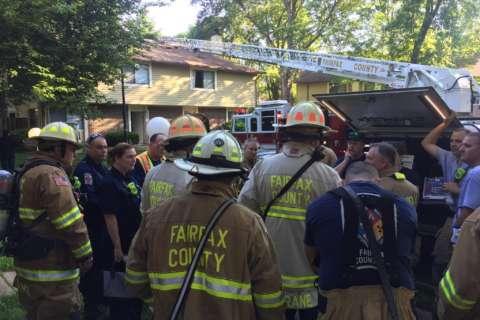 3 hospitalized after Burke fire