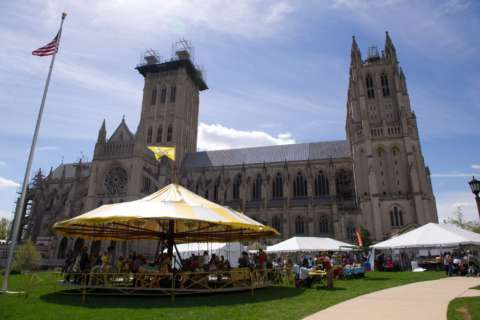 National Cathedral Flower Mart: A springtime tradition blooms again this weekend