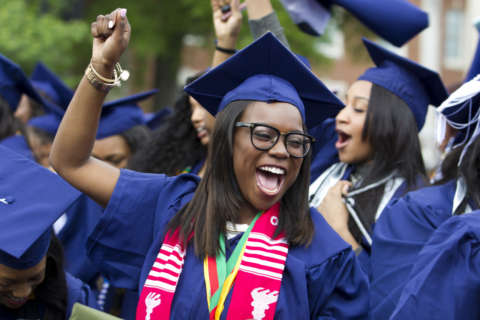 DC-area college graduation: Dates, times and locations