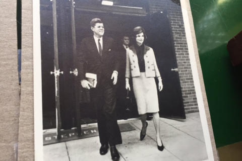 On Kennedy's 100th, a Georgetown institution unveils rare photos