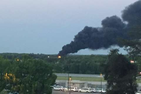 Black smoke at BWI is training exercise