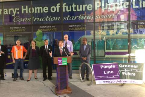 Purple Line proponents plead with judge to start construction