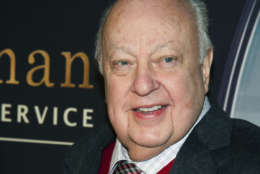 """FILE - In this Feb. 9, 2015, file photo, Roger Ailes attends a special screening of """"Kingsman: The Secret Service"""" in New York. (Photo by Charles Sykes/Invision/AP, File)"""
