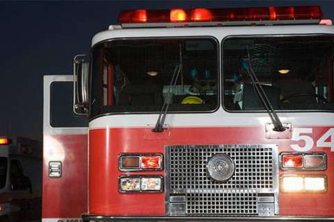 Fire in Silver Spring apartment building; dozens evacuated