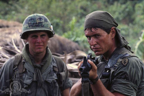 'Platoon' star Tom Berenger visits G.I. Film Fest, rides with Rolling Thunder