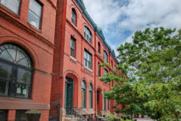 "A late 19th-century Victorian brick row house in Baltimore whose exterior was seen in the TV series ""House of Cards"" as the abode of power-hungry D.C. power couple Frank and Claire Underwood is going up for auction."