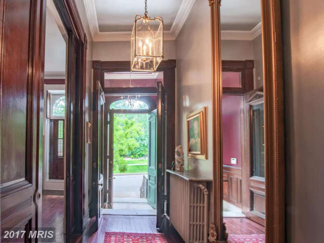 Baltimore Row House Featured In House Of Cards Goes Up For Auction