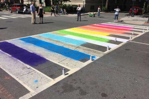 DC unveils rainbow crosswalks for Capital Pride