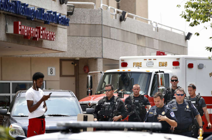 Scalise critical but improving, will require additional operations: Hospital