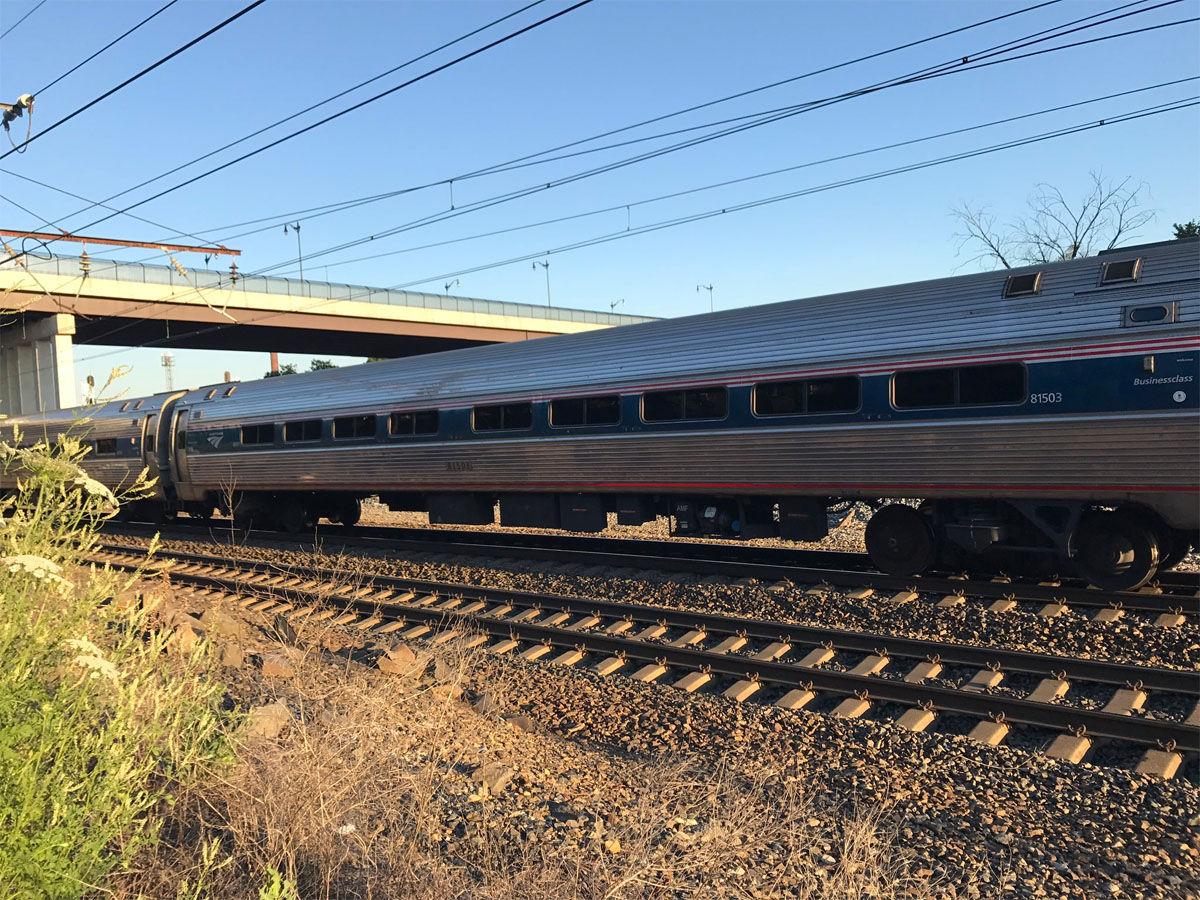 2 CSX workers fatally struck by Amtrak train identified | WTOP