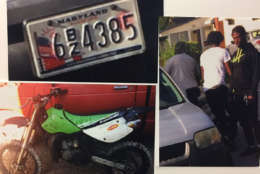 Prince George's County police also asking for information related to the armed robbery of a dirtbike Wednesday from a person selling it online. (Courtesy Prince George's County police)