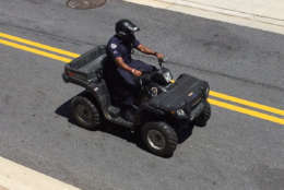Police ATVs and light motorcycles will be provide part of a stepped-up police presence this weekend. (Courtesy Prince George's County police)