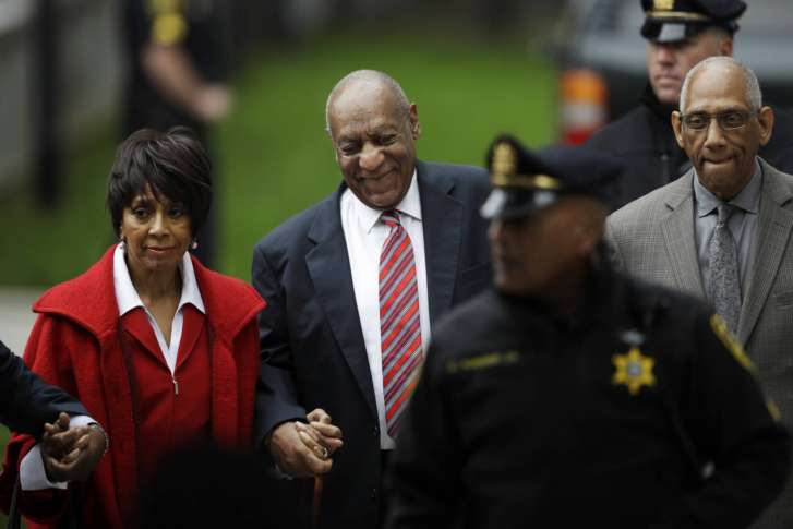Bill Cosby's accuser faces tough questions in court