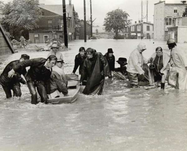 45 Years Ago Hurricane Agnes Wtop