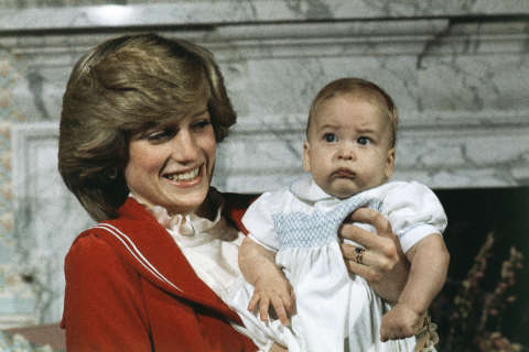 Photos: Prince William through the years