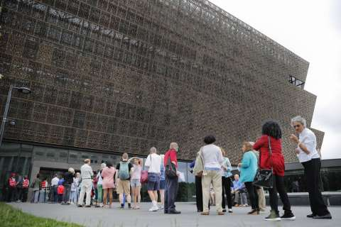 1 year later: Smithsonian's African-American museum celebrates on the Mall