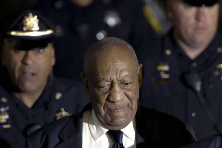 Bill Cosby shouts 'Fat Albert' phrase 'Hey, hey, hey' while leaving court
