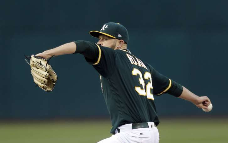 Ryon Healy Homers Twice For 5 RBIs, A's Beat Blue Jays