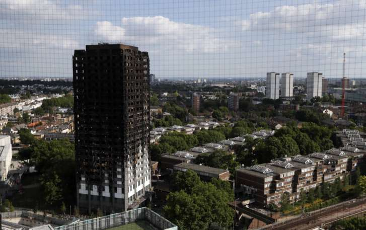 Grenfell Tower Cladding May Have Been Banned In UK