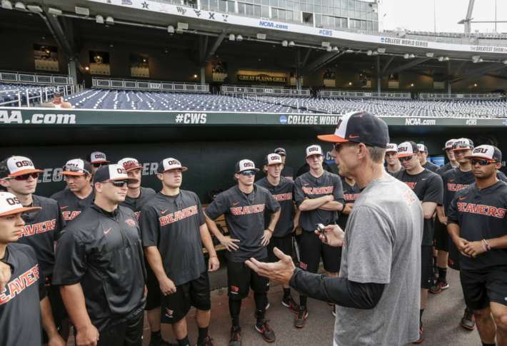 Luke Heimlich steps down from OSU baseball team