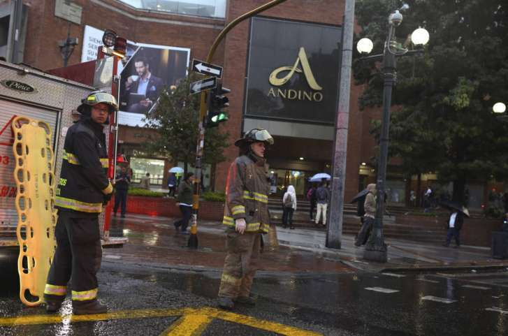 French woman killed, 11 hurt by explosion at Colombia mall