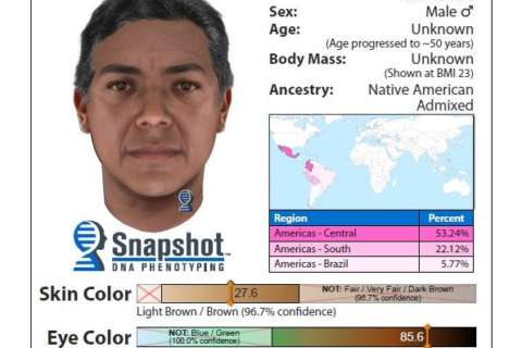 DNA gives a possible snapshot of 1992 murder suspect