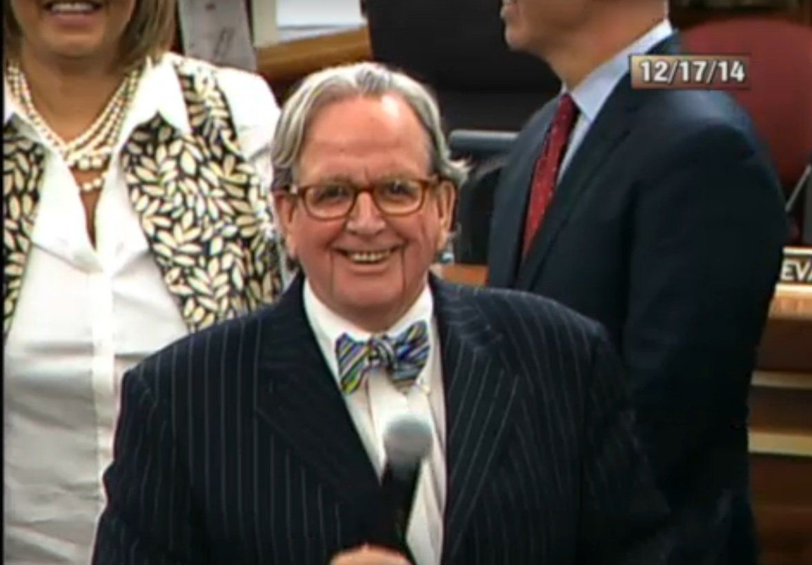 D.C. Councilman Jim Graham died at 71 years old. (Courtesy D.C. Council)
