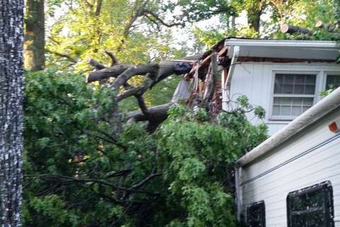 Tornado touchdown in Montgomery Co. leaves damage, residents displaced