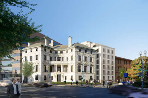 Historic DC mansion gets luxury apartment makeover