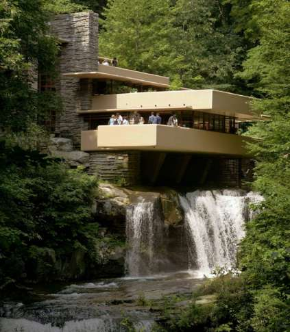 23, 2007 Photo Shows Fallingwater Which Was Built Out Over A Waterfall In  Bear Run, Pa. It Is One Of Architect Frank Lloyd Wrightu0027s Best Known Works. Part 39