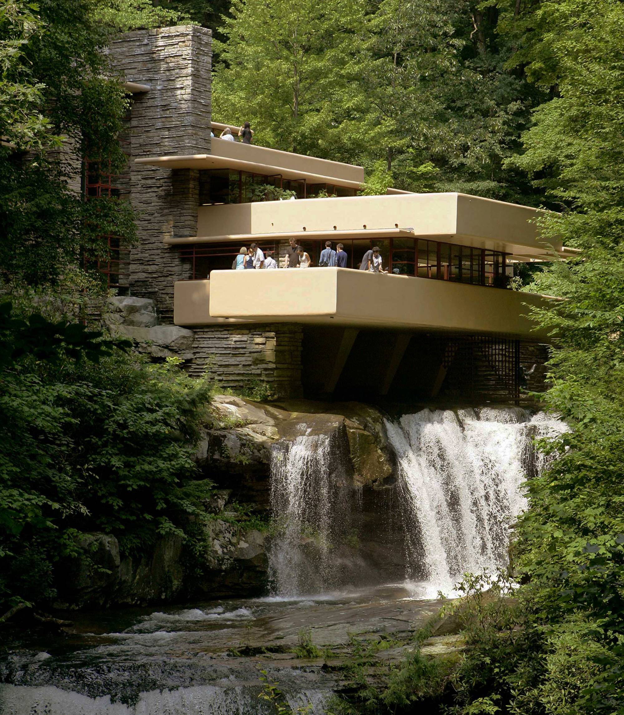 Latest Home Interior Flood Topples Statue At Iconic Fallingwater House Wtop