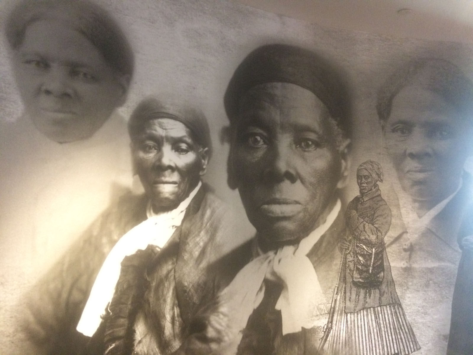 The Harriet Tubman Underground Railroad State Park and Visitor's Center is near Cambridge, Maryland -- which is close to where Tubman was born into slavery until she escaped in 1849. (Dick Uliano/WTOP)