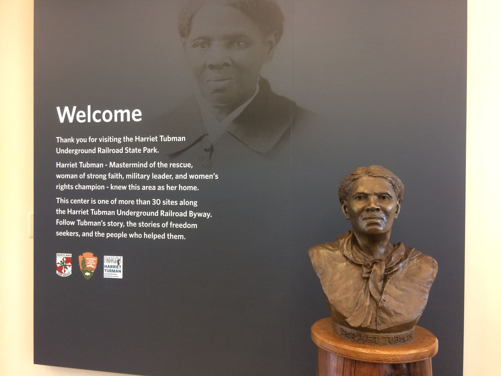 Once she reached freedom in the north Tubman repeatedly risked her life returning to the eastern shore to lead to freedom about 70 friends and family members including her mother and father. (Dick Uliano/WTOP)
