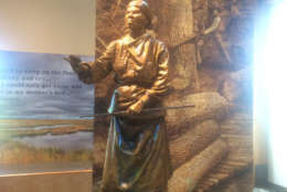 Following the Civil War, Tubman was active in the women's sufferage movement. She died in 1913 in Auburn, New York. (Dick Uliano/WTOP)