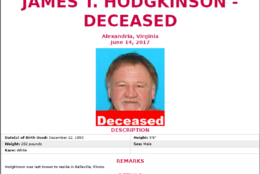 The FBI released this poster   seeking information about James Hodgkinson, the suspect gunman who opened fire on the Republican congressional baseball team as they practiced at a field in Alexandria on Wednesday morning. Investigators believe Hodgkinson had been living in his van near the park since March. The FBI wants to hear from local residents who interacted with him and anyone he encountered during his travels from Belleville, Illinois to Virginia. (FBI)