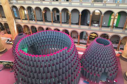 What's all the buzz about? Hive lands at the National Building Museum