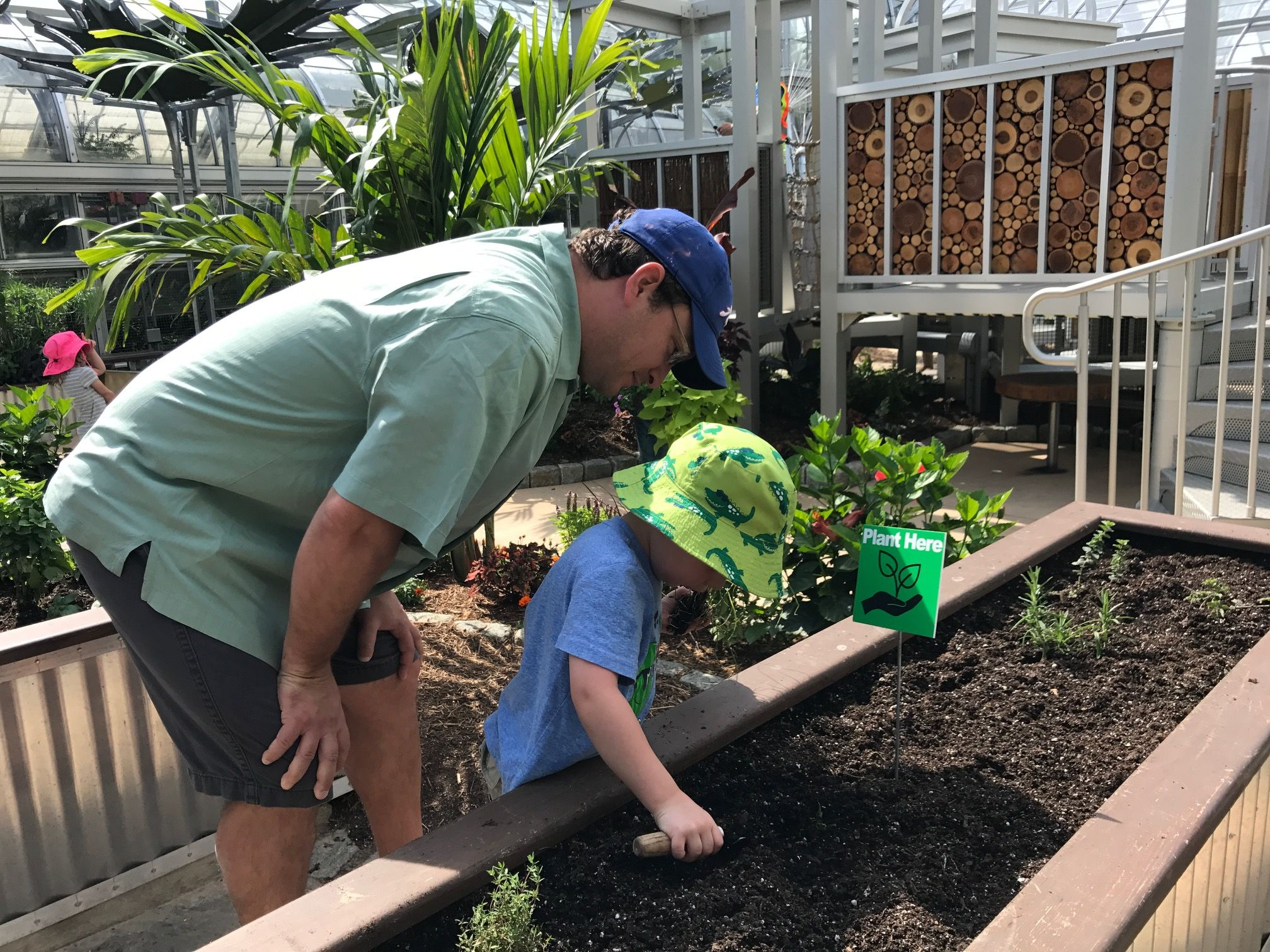 An oasis on the National Mall Children s garden reopens