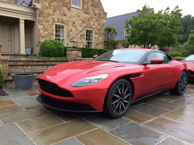 The New DB11 Is An Impressive Grand Touring Automobile That Brings Aston  Martin Into The 21st Century. (WTOP/Mike Parris)