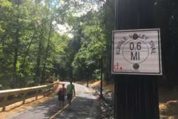 The $6 million Klingle Valley Trail project came into fruition after nearly 24-years of political back-and-forth over the future of defunct Klingle Road, which was originally built in 1831. (WTOP/Mike Murillo)