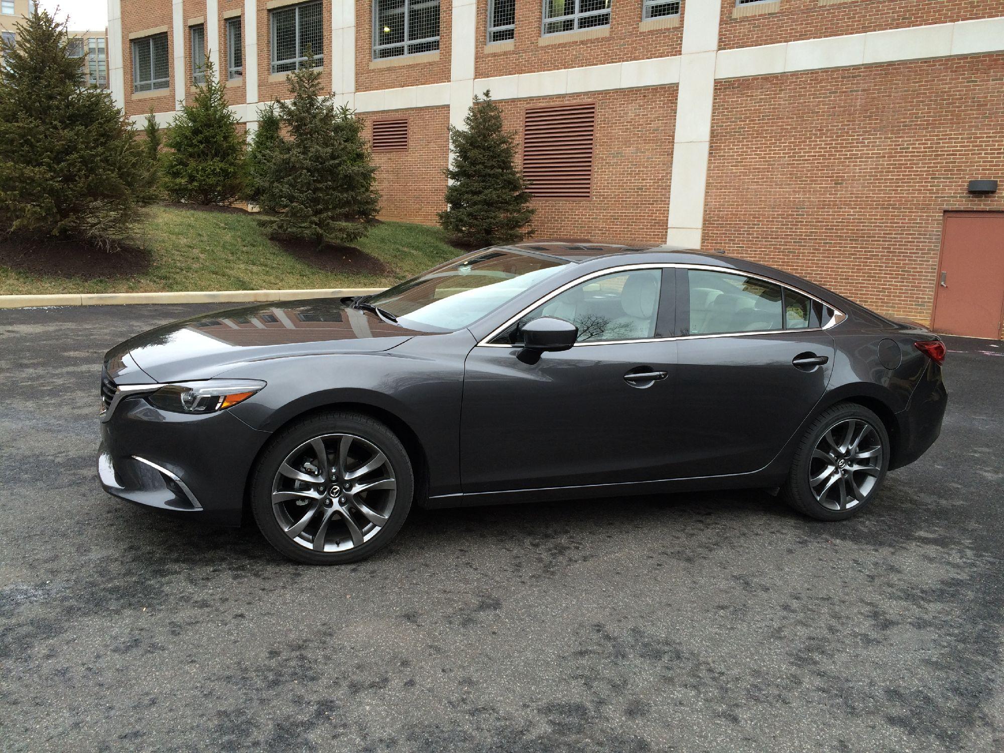 Mazda adds fresh style, elegant design to 2017 Mazda 6 Touring | WTOP