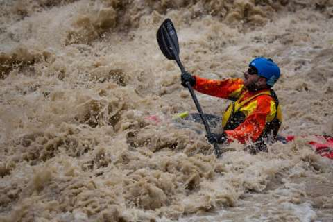 For some veterans, rehab is a kayak on a raging river