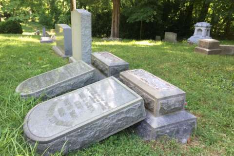 Historic Prince George's Co. cemetery vandalized