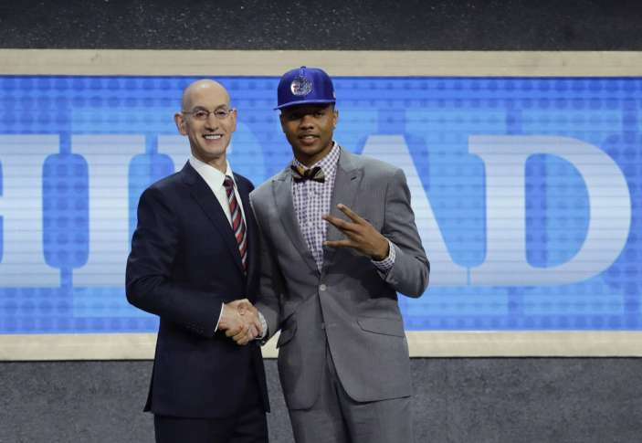 Fultz selected first by 76ers in NBA Draft