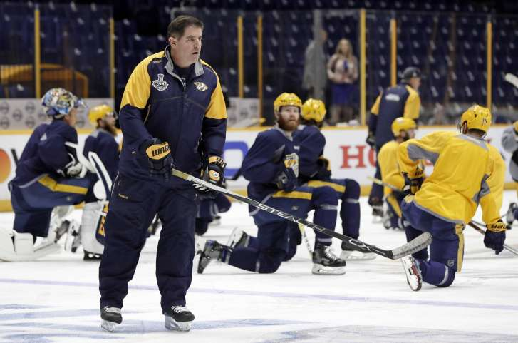 Underwood puts off birthday present for Preds' Fisher