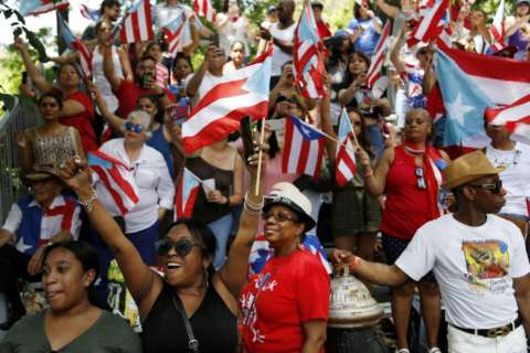 Photos: National Puerto Rican Day Parade steps off in New York