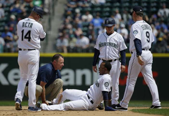 Mariners place Jean Segura on DL with high-ankle sprain