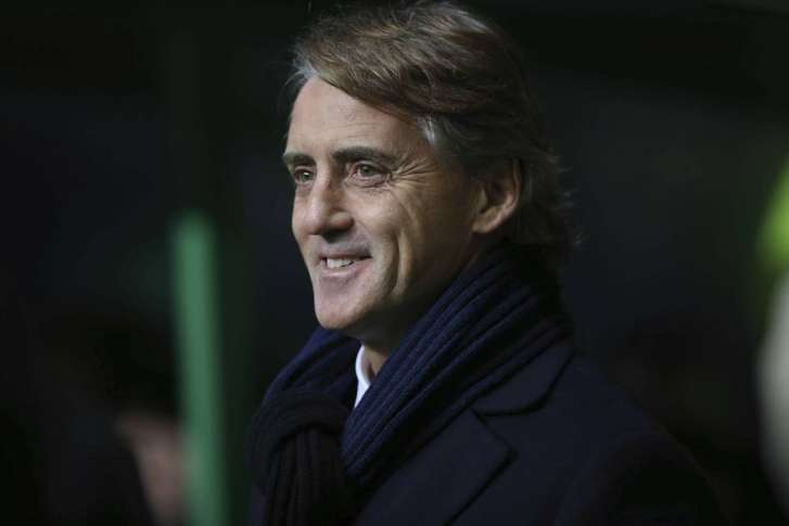 Roberto Mancini named manager of Russian soccer club Zenit